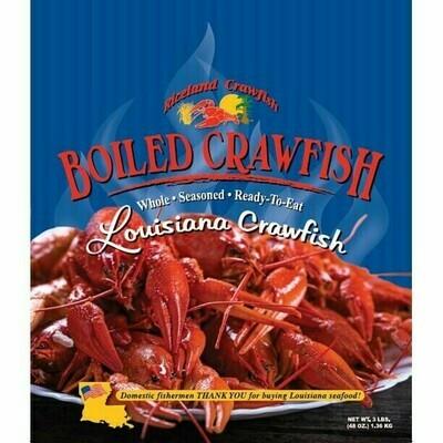 Riceland Boiled Crawfish 3 lb. bag