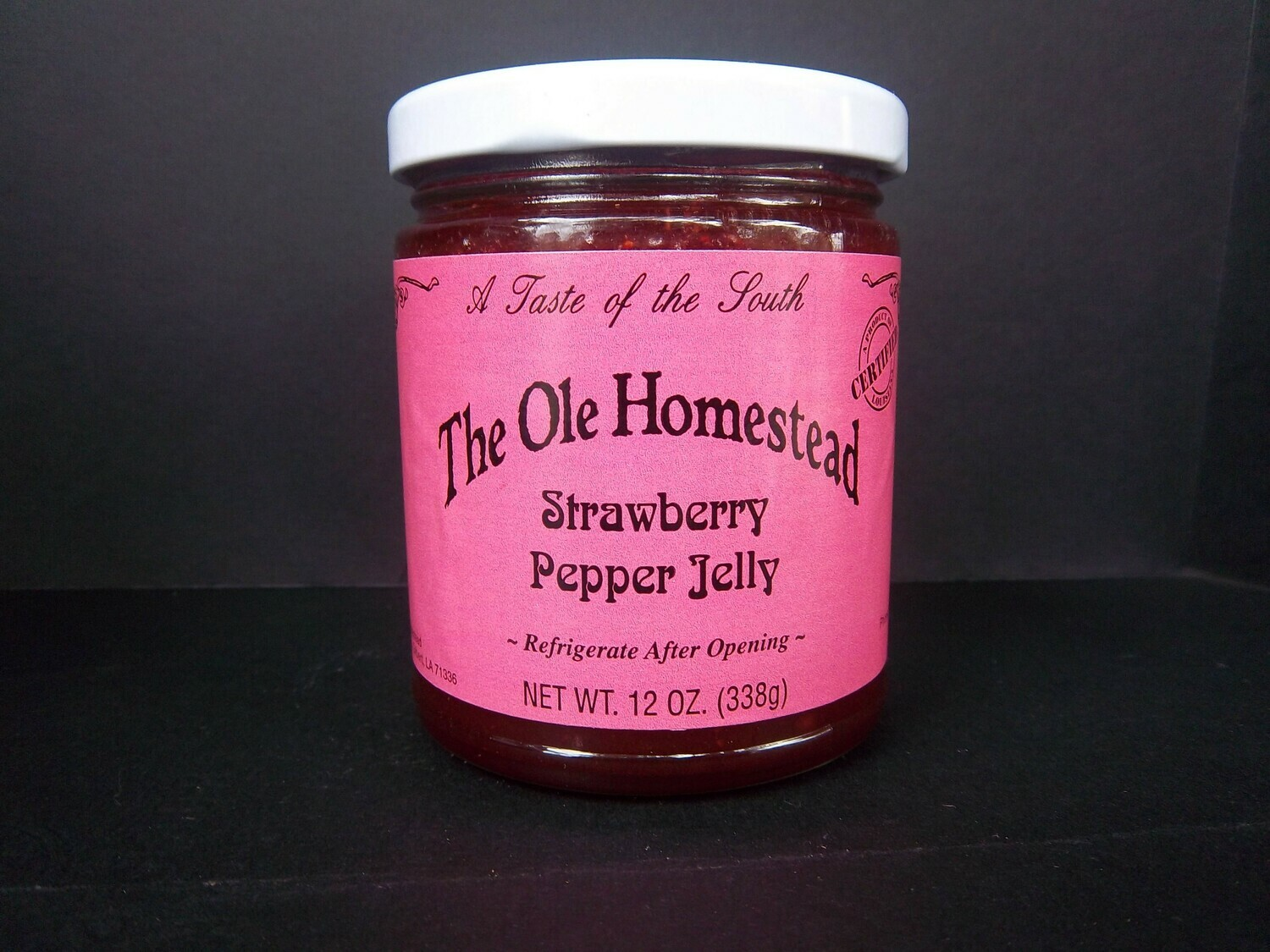 Ole Homestead Strawberry Pepper Jelly