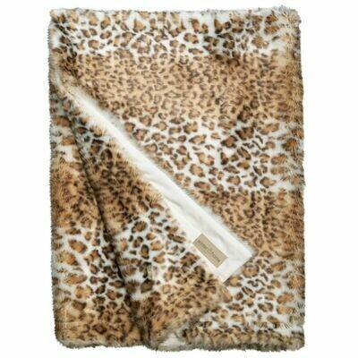 Plaid Snow Leopard 140x200cm,