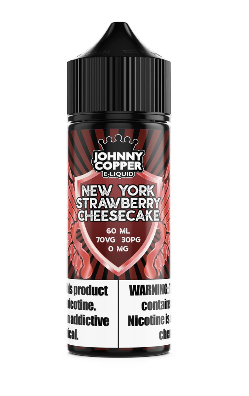 Johnny Copper Strawberry Graham Custard 120ml