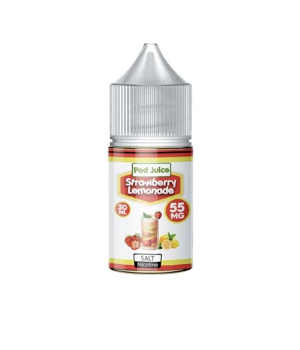 Pod Juice Strawberry Lemonade Salt