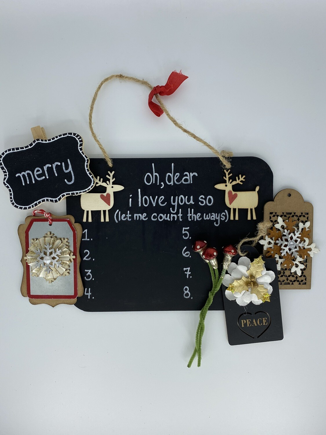 962 Black and White Cheer Gift Package