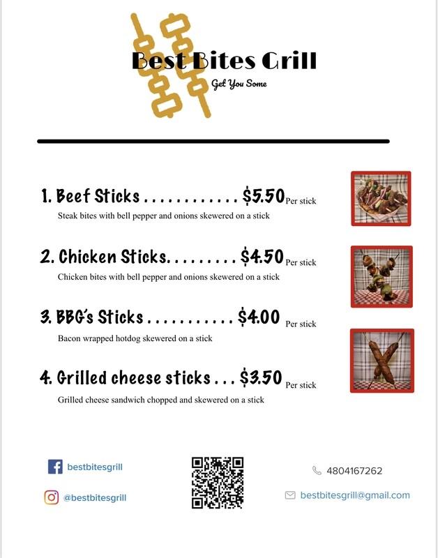 Best bites grill menu