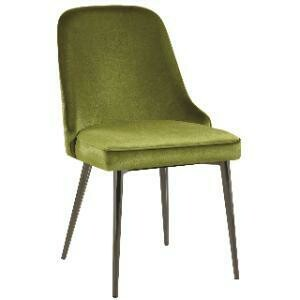 Chair, Stevie Accent Chair (Green Velvet) 30 x 32 x 43