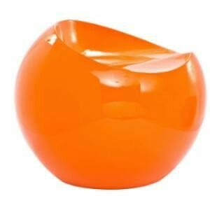 Chair, Ball (orange)  24 x 20