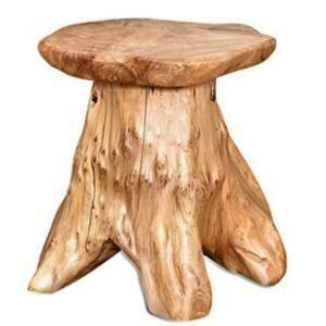 Chair, Tree Stump Stool 14 x 14