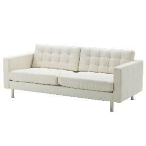 Sofa, Headliner Leather (Cream)