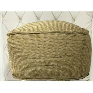 Seating, Natural Woven Pouf 20