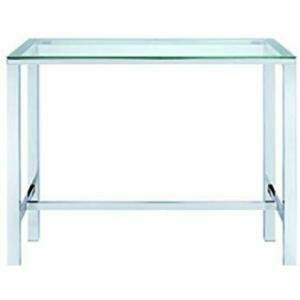 Table,With Glass Top (Chrome) 47