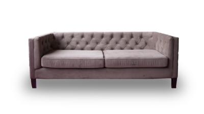 Sofa, Fox Sofa (Tan) 84.5 x 33 x 36