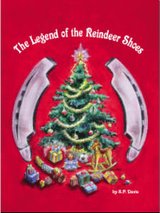The Legend of the Reindeer Shoes Book and Shoes 3