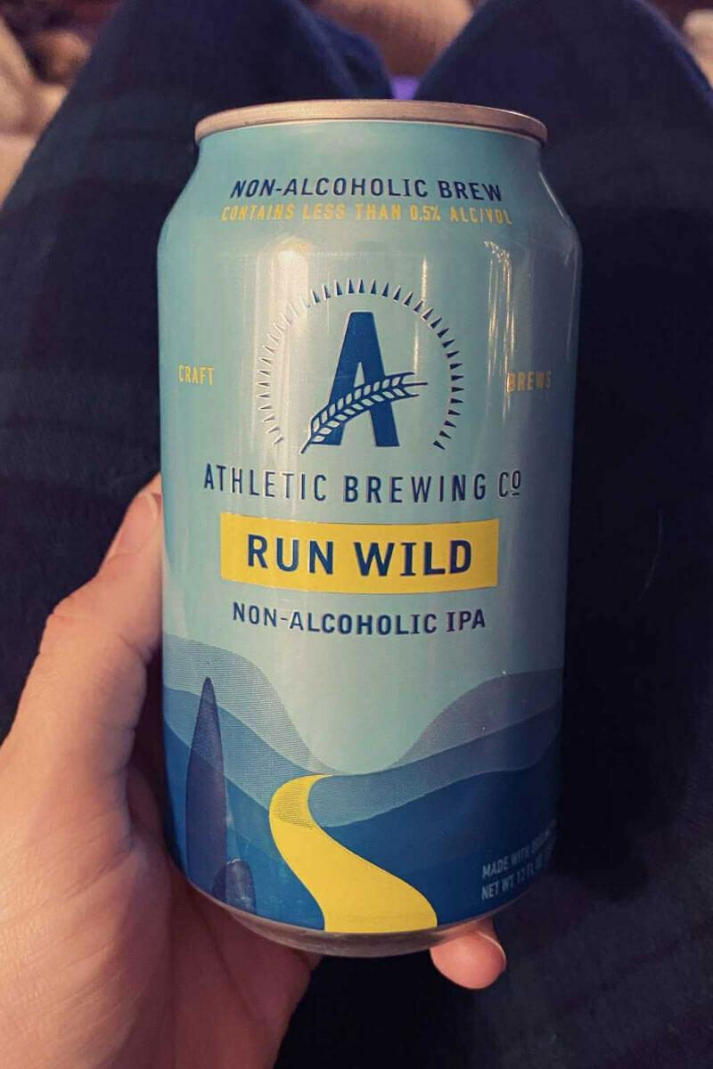 Athletic Brewing Co. Run Wild Non Alcoholic IPA 12 oz Cans
