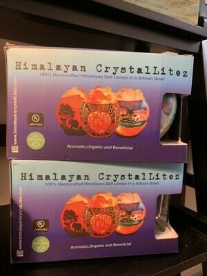 Himalayan Crystal Lamp Diffuser