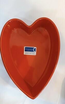 "Chantal Heart Baking or Candy Dish 9"""