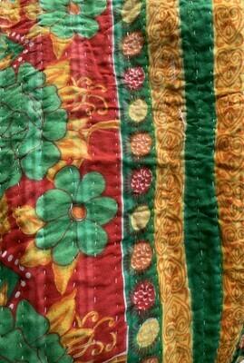 Vintage Kantha Quilt Blankets/Throws