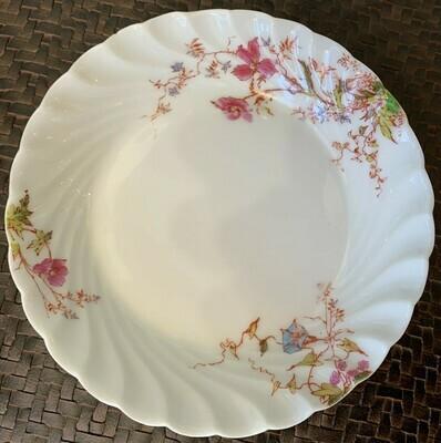 Vintage Haviland and Limoges Flower Berry Bowls 5 1/2%