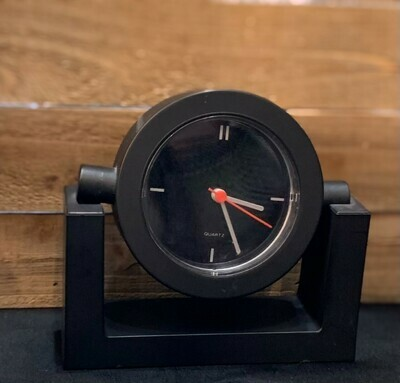 "Black Desk Clock 5"""