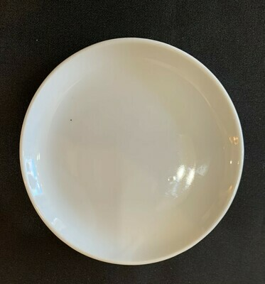 """White Butter Pat Plate 3 1/2"""""""