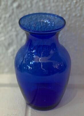 """Cobalt Blue Vase 5.5"""""""