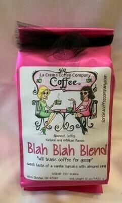 Coffee Blah Blah Blend (Vanilla Cupcake with Almond Icing) 12oz.