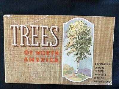 Trees of North America 1934 - books