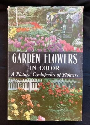 Garden Flowers in Color 1964 - book