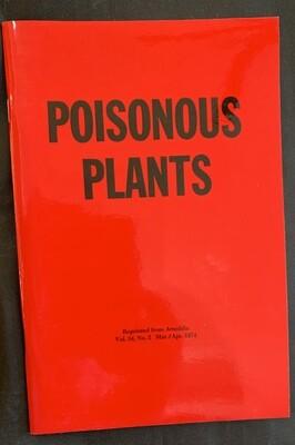 Poisonous Plants by Arnoldia