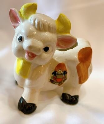 Vintage Ceramic Cow Creamer Made in Japan