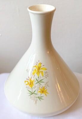 """Vintage Mid Century Beaker Shaped Vase 9"""""""