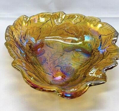 """Gold Blackberry Colored Glass 7"""""""