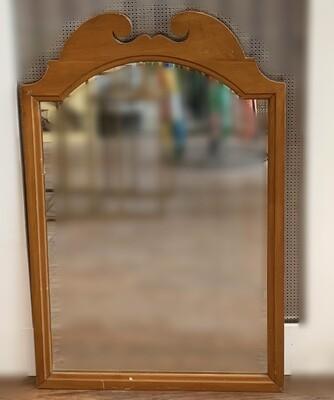 "Vintage Solid Wood Mirror 20"" W x 30""H"