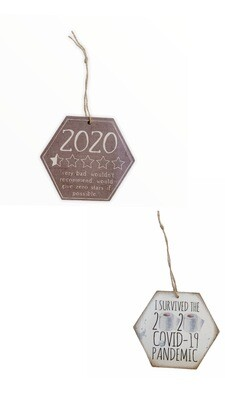Funny Ornaments 2020 Made In The Usa