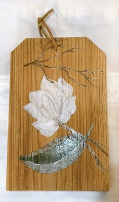 Fence Plank Flowers Hanging