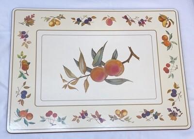 "Royal Worcester Set of 6  ""EVESHAM"" Placemats"