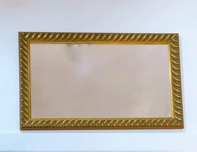 Vintage Gold Trim Mirror