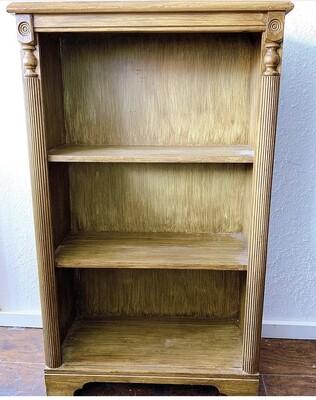 """Vintage Wood Bookcase 35 1/2""""h x 30""""w x 10""""d"""
