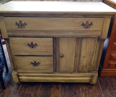 """Vintage Antiqued Cabinet 29""""H x 30 1/2"""" W x 16"""" D"""