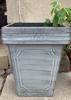 Large Plastic Grey Pot