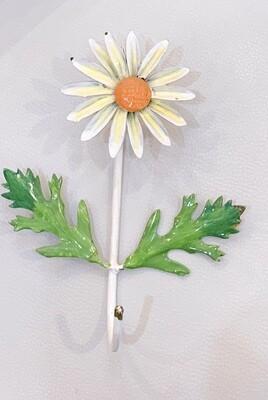 Vintage Italian Tole Metal Daisy Flower