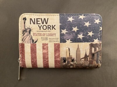 Leather New York Wallet