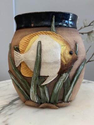 """Vintage Patagonia Fish Planter 6"""""""