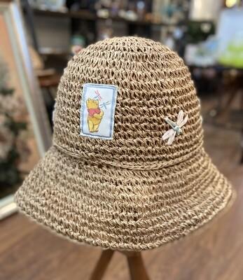 Winnie the Pooh Floppy Straw Hat
