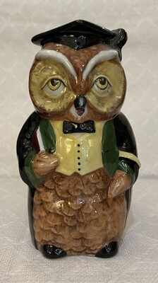 Woodland Collection Staffordshire Ceramics Mr. Chips Owl Cup