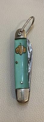 Vintage 1960s Green Girl Scout Pocket Knife