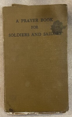 Prayer Book for Soldiers and Sailors 1941