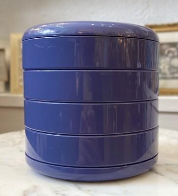 Interdesign Blue Swivel Desk Organizer
