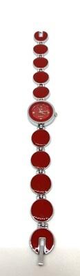 Red Circle CK Watch