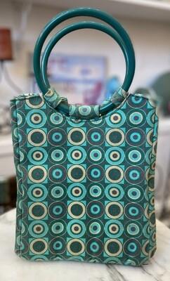 Turquoise Mod Retro Lunchbox