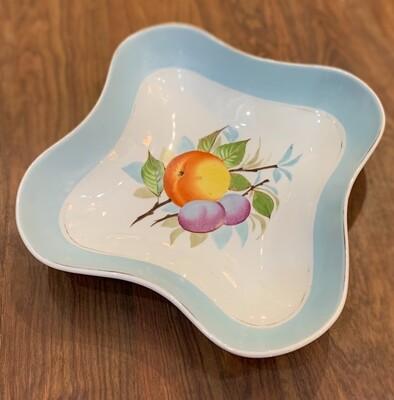 Vintage Bruner Schwalb Fruit Serving Bowl