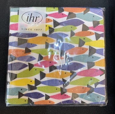 Multicolor Fish Napkin Made in Germany (20)